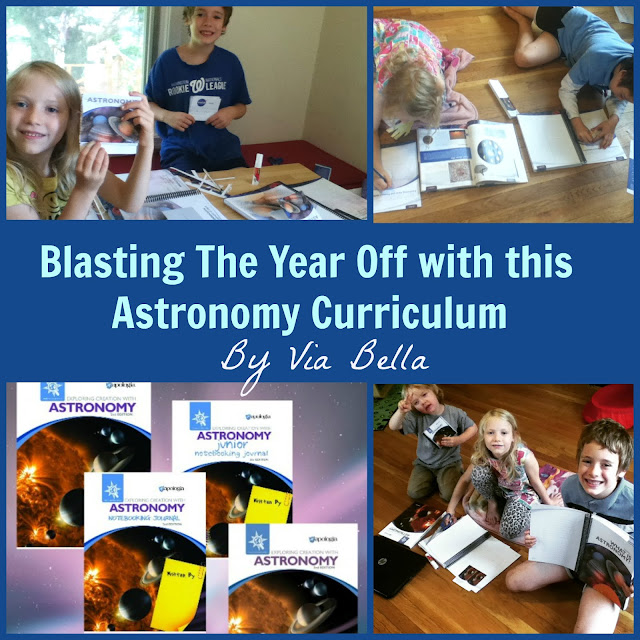 Blasting The Year Off with this Astronomy Curriculum , astronomy, science, homeschool, homeschool curriculum, k-6, A full set, product review, homeschool review, tos crew