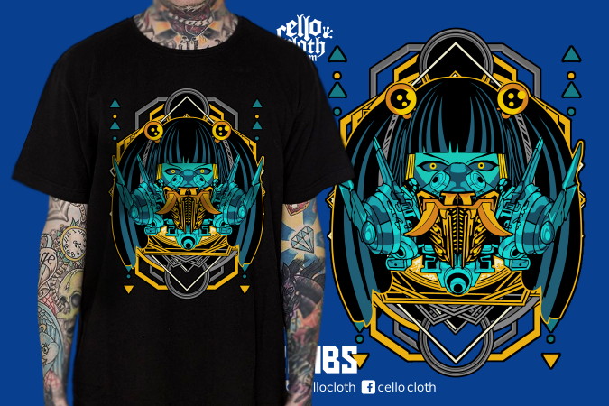 Cyberpunk Kaos Distro Terbaru - Contoh Desain Kaos Sablon Rubber Plastisol