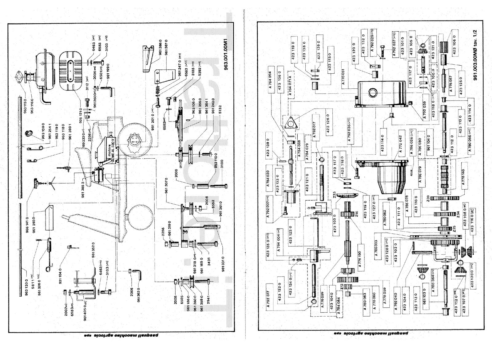 InfoTrattore.it: Gippina pasquali 963 CV 10 Manuale