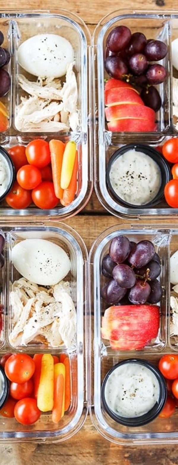 Protein Fruit & Veggie Bistro Box - Zero WW Freestyle Points #FRUIT #WW #WEIGHTWATCHER