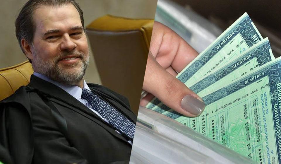 STF: Dias Toffoli suspende resolução que reduzia valor do DPVAT em 2020
