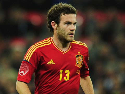 Mata bị loại khỏi ĐT Tây Ban Nha dự VCK EURO 2016