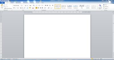 Cara Mulai Menjalankan Aplikasi Office Word 2010