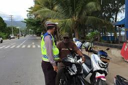 14 Pengendara Terjaring Razia Sat Lantas Polresta Jayapura