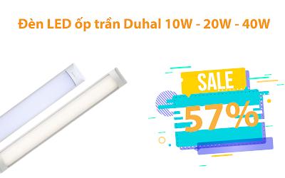 Catalogue đèn Duhal âm trần 12W giá thành rẻ 2019/2020