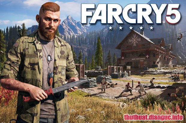 Tải game Far Cry 5 miễn phí link Fshare
