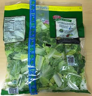 Fresh Express Chopped Romaine Lettuce - Source: FDA, https://www.fda.gov/Safety/Recalls/ucm485126.htm?source=govdelivery&utm_medium=email&utm_source=govdelivery