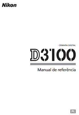 Loja da Fotografia: Manual Nikon D3100 em Português
