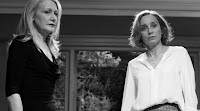 Patricia Clarkson and Kristin Scott Thomas in The Party (2018)