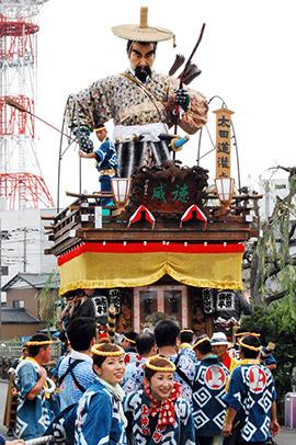 Sawara-no-Taisai Natsu Matsuri Festival, Katori City, Chiba Pref.