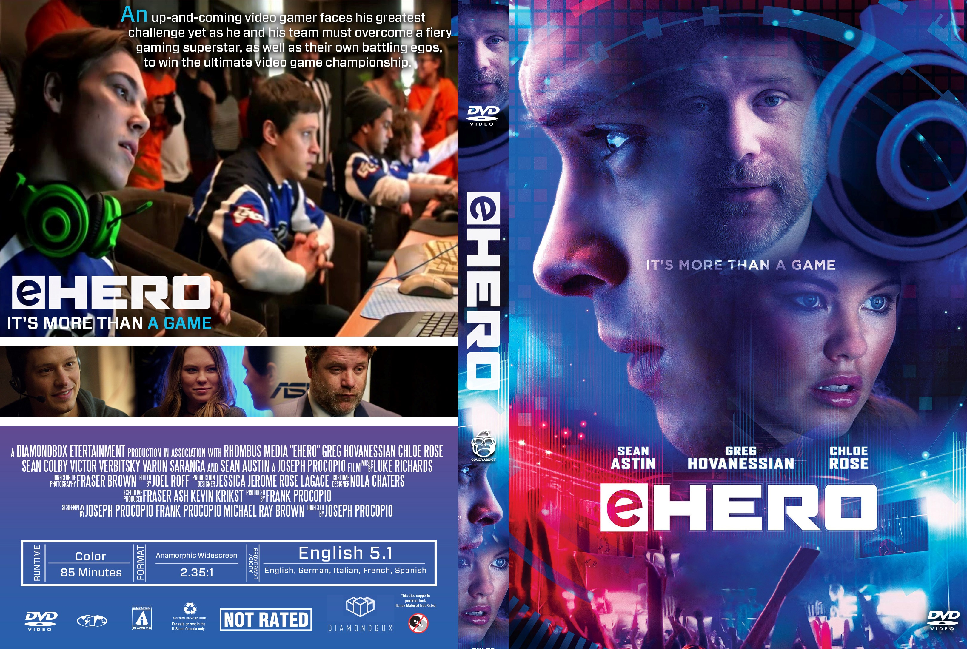 eHero DVD Cover - Cover Addict - DVD, Bluray Covers and ...