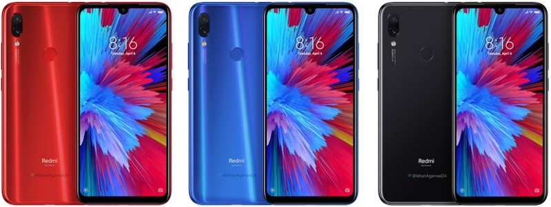 Redmi Note 7 Pro with 48MP main camera leaks