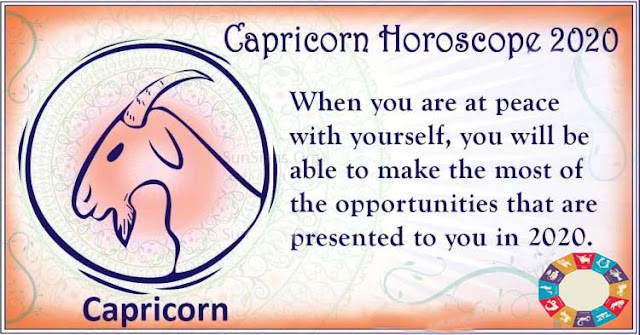 Capricorn 2020 Horoscope