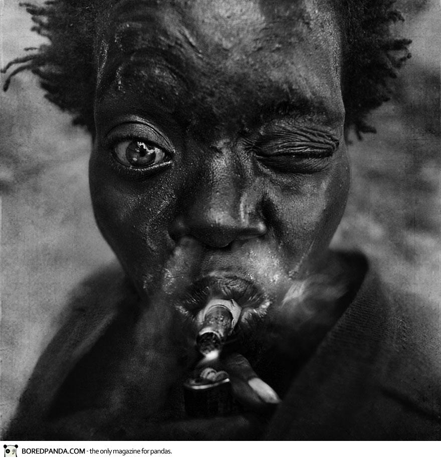 Homeless People Portraits Photography By Lee Jeffries: SylK's Playground: Portraits Of Homeless People By Lee