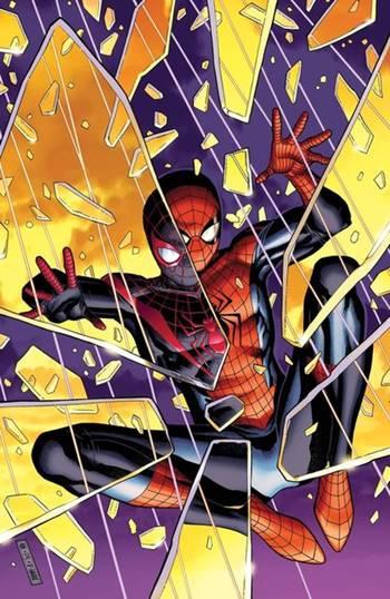 Peter Parker y Miles Morales se encuentran