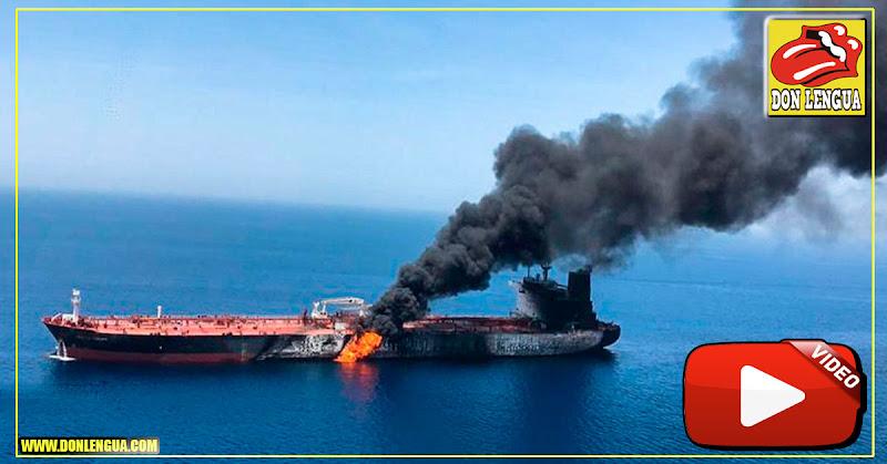 Régimen de Irán hizo explotar dos cargueros petroleros frente a las costas de Omán