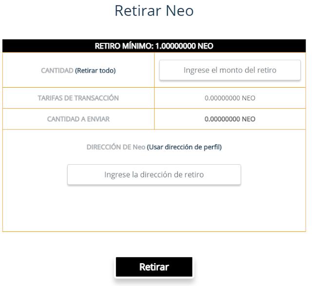 retiros free neo
