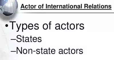 नान-स्टेट एक्टर  Non-State Actors