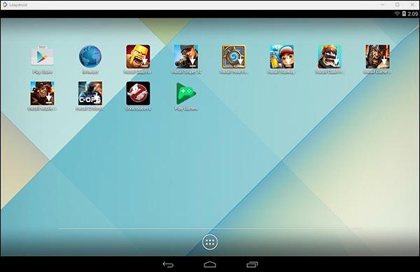تحميل برنامج LeapDroid لتشغيل تطبيقات والعاب الاندرويد علي الكمبيوتر