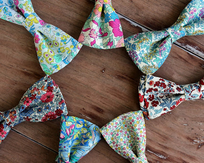Because I'm Me floral bow ties for men