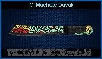 Combat Machete Dayak