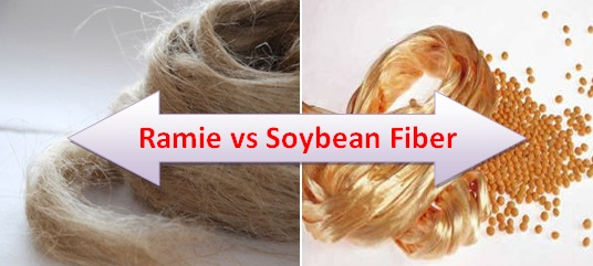 Ramie and Soybean Fibers