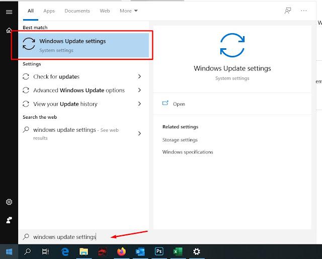 Cara Update Windows 10 secara manua;