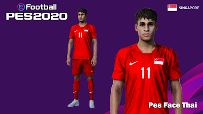 PES 2020 Faces Irfan Fandi by PESFaceThai