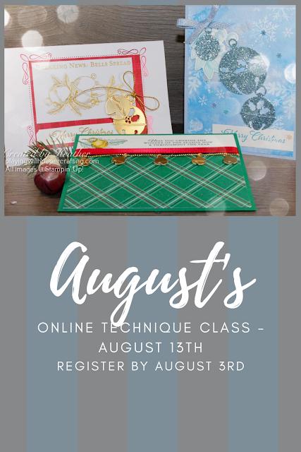 august online technique class