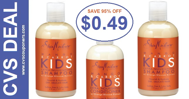 SheaMoisture Hair Care CVS Deal 12-13-12-19
