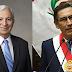 Élder Falabella oró en una transmisión de TV, presentada por el Presidente de Perú