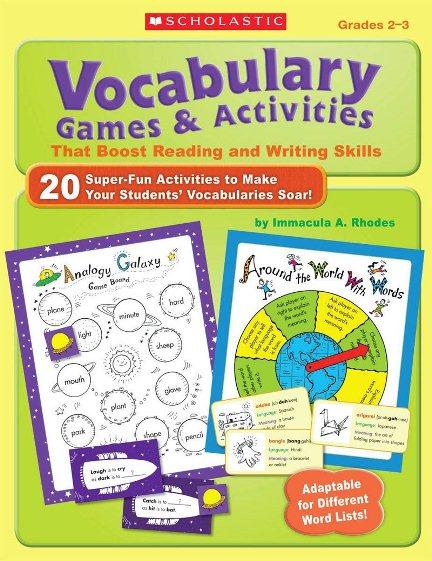 Vocabulary Games & Activities (Grades 2-3)
