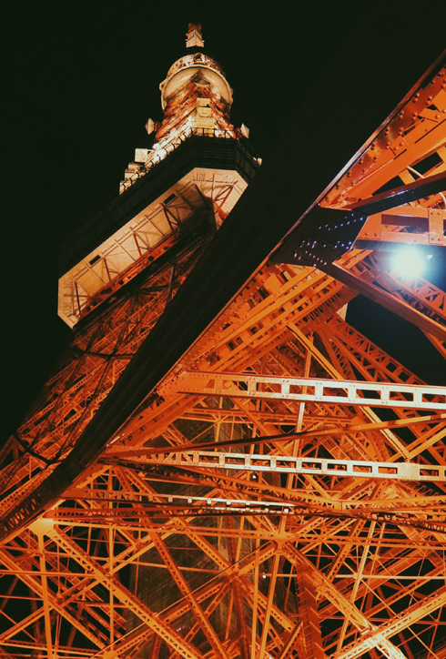 Tokyo Tower Night Photography Japan