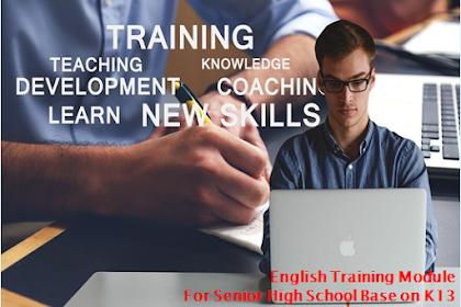 Modul Pelatihan Bahasa Inggris SMA K13