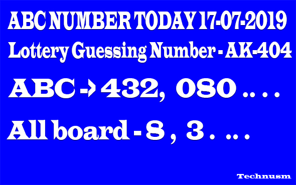 World lottery numbers guessing and prediction