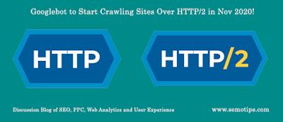 Googlebot to start crawling over HTTP/2 or h2