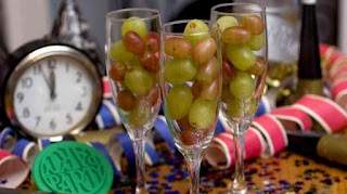 comer doce uvas