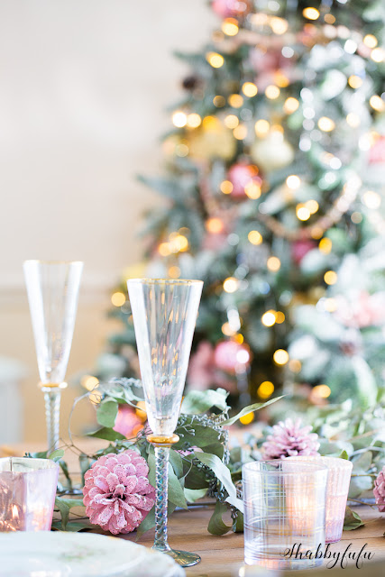 Tablescapes Christmas Decoration