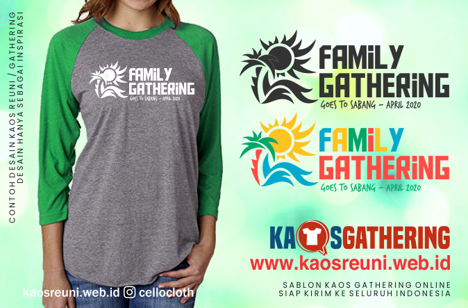 Sabang Big Family Kaos Gathering  - Kaos Family Gathering - Kaos Employe Gathering