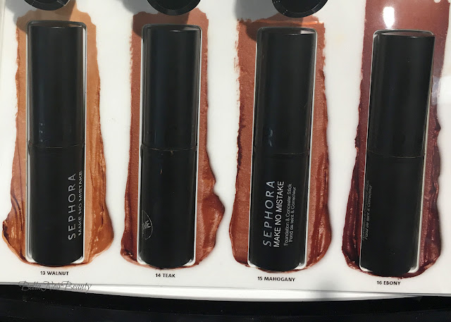 Sephora Collection Make No Mistake Foundation and Concealer Stick | bellanoirbeauty.com
