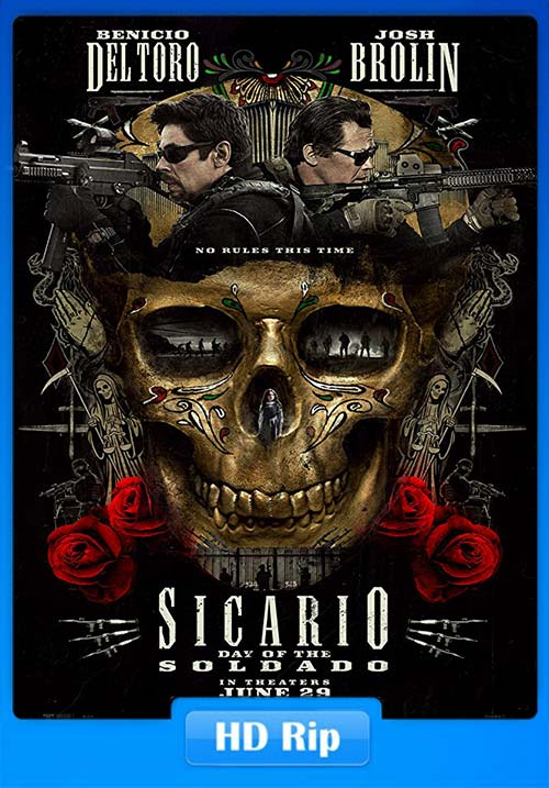 Sicario Day Of The Soldado 2018 720p WEBRip x264 | 480p 300MB | 100MB HEVC x265