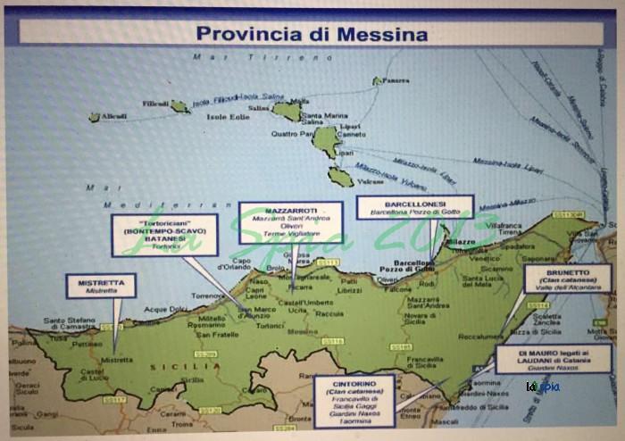 Malgradotuttoblog mafia in sicilia la mappa 2015 della for Volantino despar messina e provincia