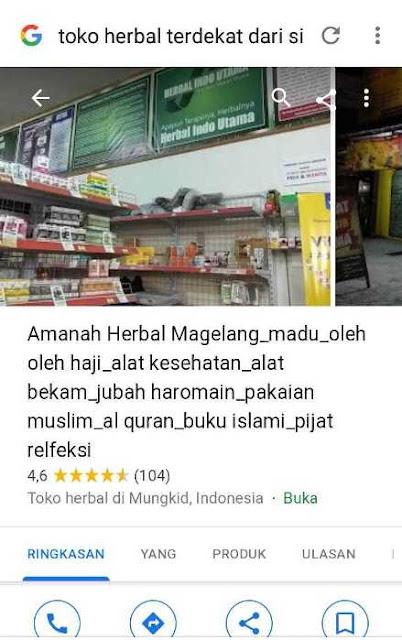 Toko Amanah Herbal Magelang