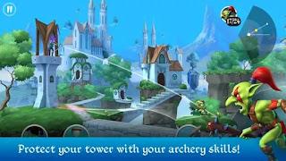 تحميل لعبة Tiny Archers مهكرة