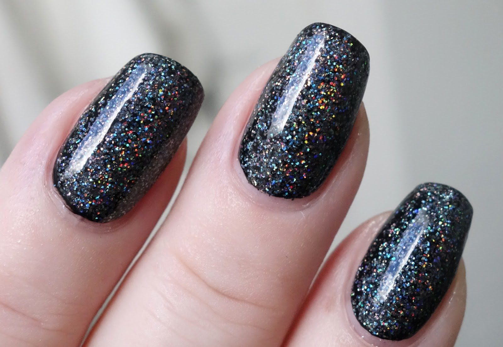 Lacquer Slacker Liz: FUN Lacquer Black Holo Witch over Cirque ...
