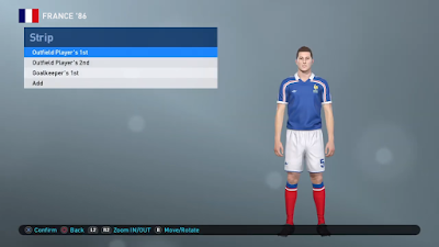PES 2019 PS4 Classic Option File FIFA World Cup 1986 by Zsolt72