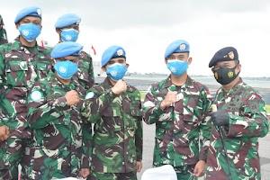 Pesan Pangkoarmada II kepada Prajurit TNI yang Akan Berangkat ke Lebanon
