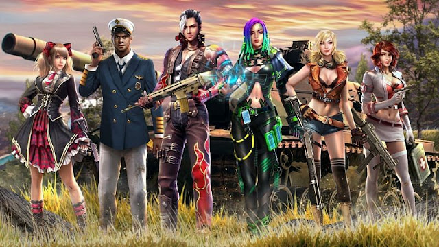 5 best Free Fire characters