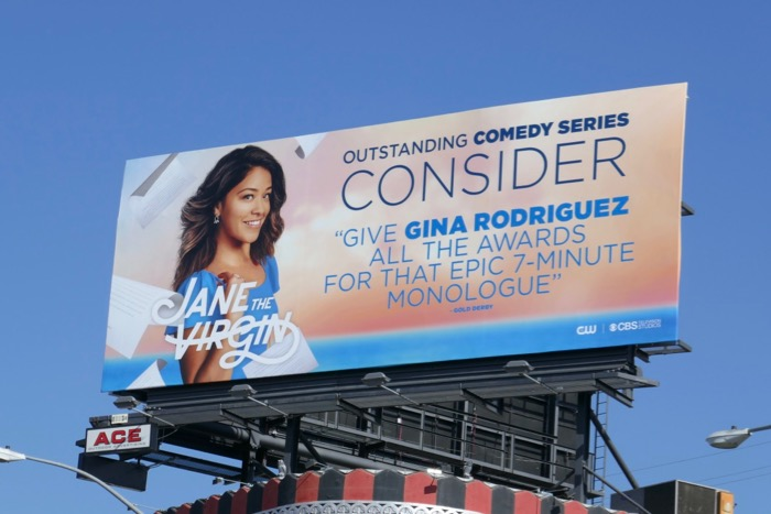 Jane Virgin final season 5 Emmy FYC billboard