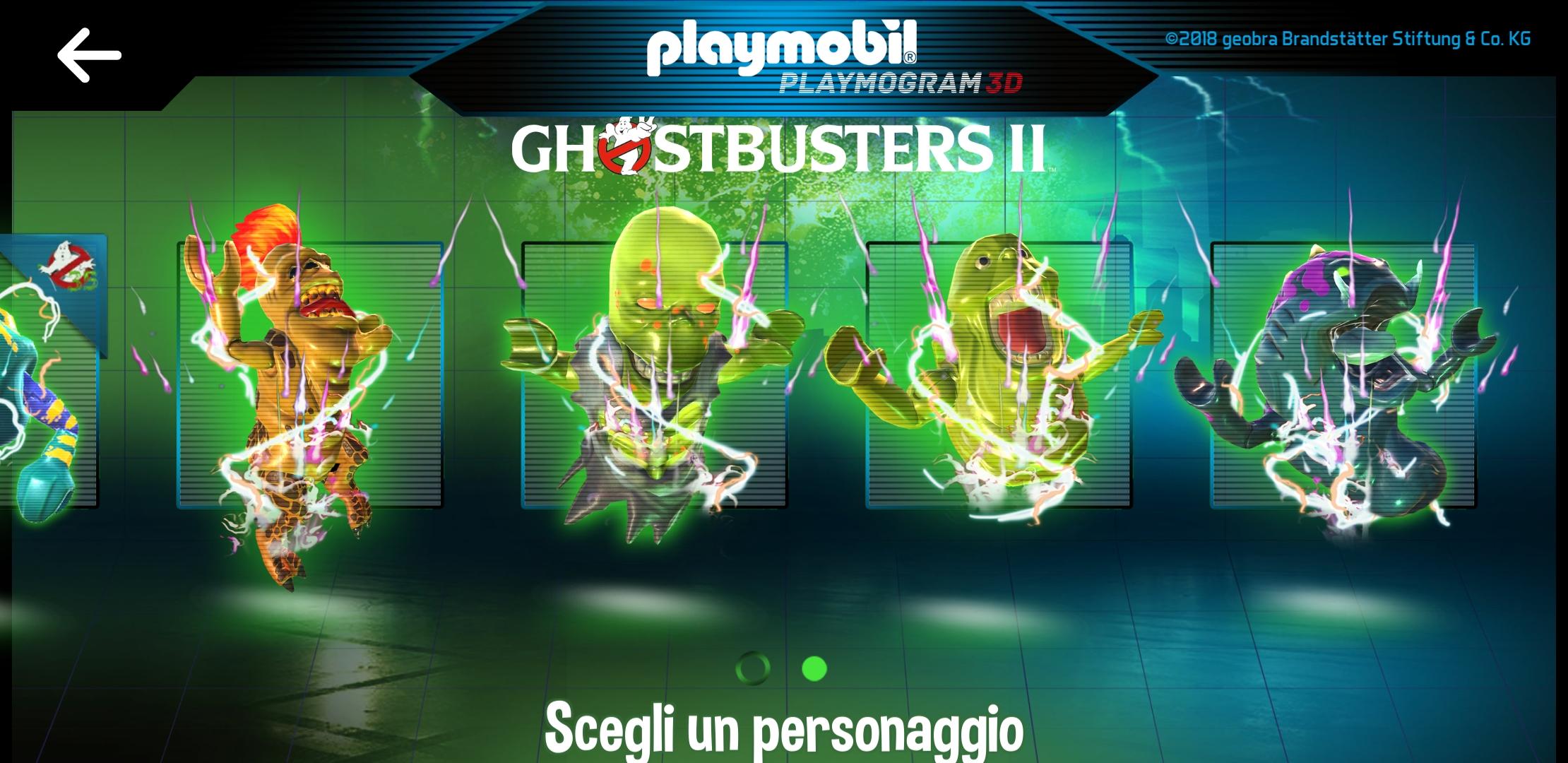 Playmobil Egon Spengler Ghostbusters II ectoplasma Slimer ologramma Antro docmanhattan